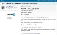 linked in mas90 trivia