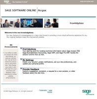 sage crm support knowledgebase