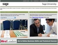 sage software university