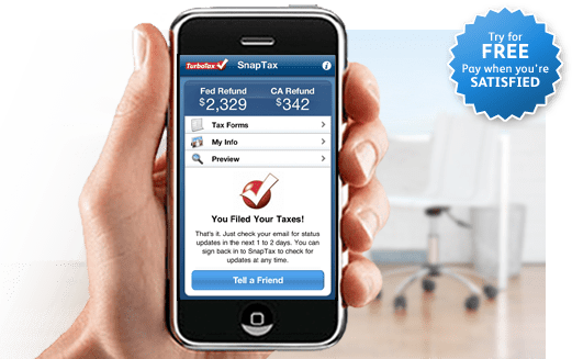 TurboTax SnapTax Mobile App – File 1040EZ Taxes From Android and