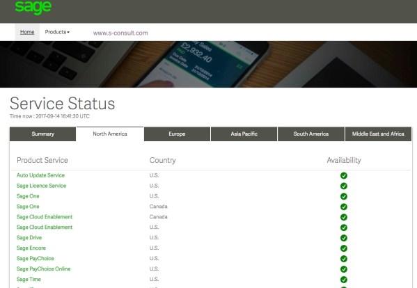 Sage online status