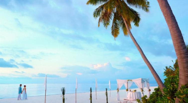 Свадьба на пляже Мальдивских островов