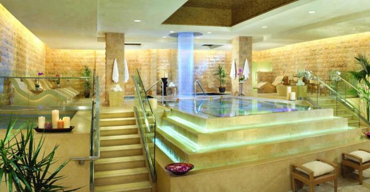 Салон массажа и спа в отеле Цезарь-Палас, Лас-Вегас