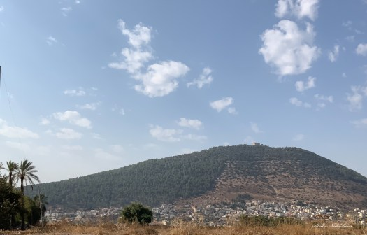 Vue sur le Mont Tabor (Israël)