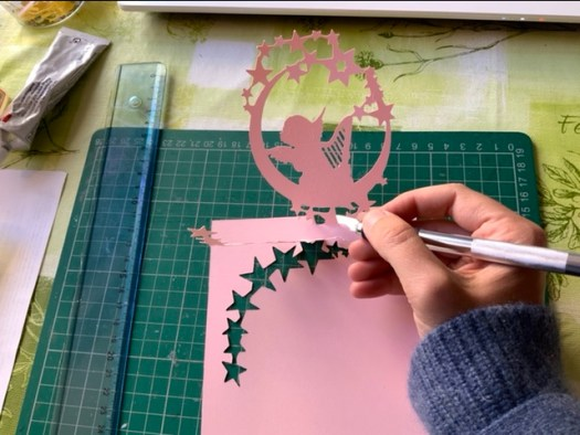 Création en papier, kirigami