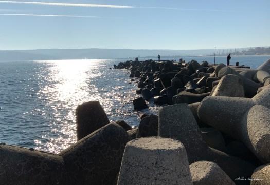Paysage au bord de la Mer Noire