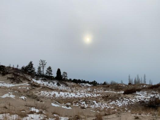 Paysage au bord du lac Huron
