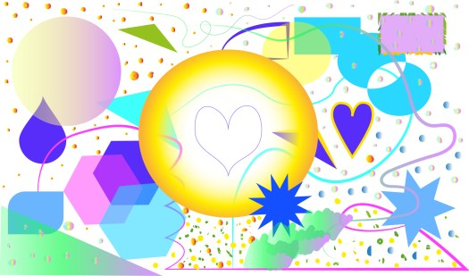 Illustration - joyous doodling in Illustrator