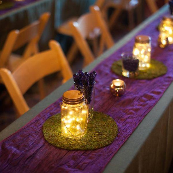Enchanted Forest Bug Light Jars