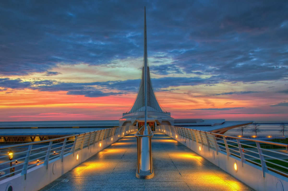 The Top 10 Places in the U S  to Visit in 2016   HuffPost     to Visit in 2016  Lonely Planet s Best in the US 2016  Exterior of the  Milwaukee Art Museum which houses over 30 000 works of art  Image by