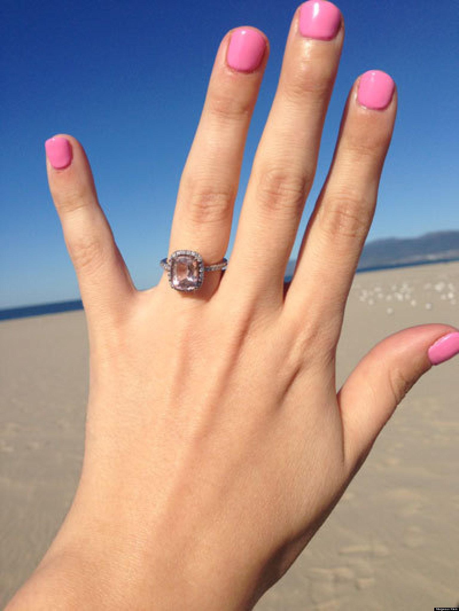 In Praise Of Morganite Engagement Rings HuffPost
