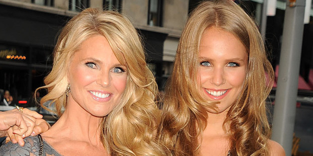 Christie Brinkley And Daughter Sailor Brinkley Cook Sign
