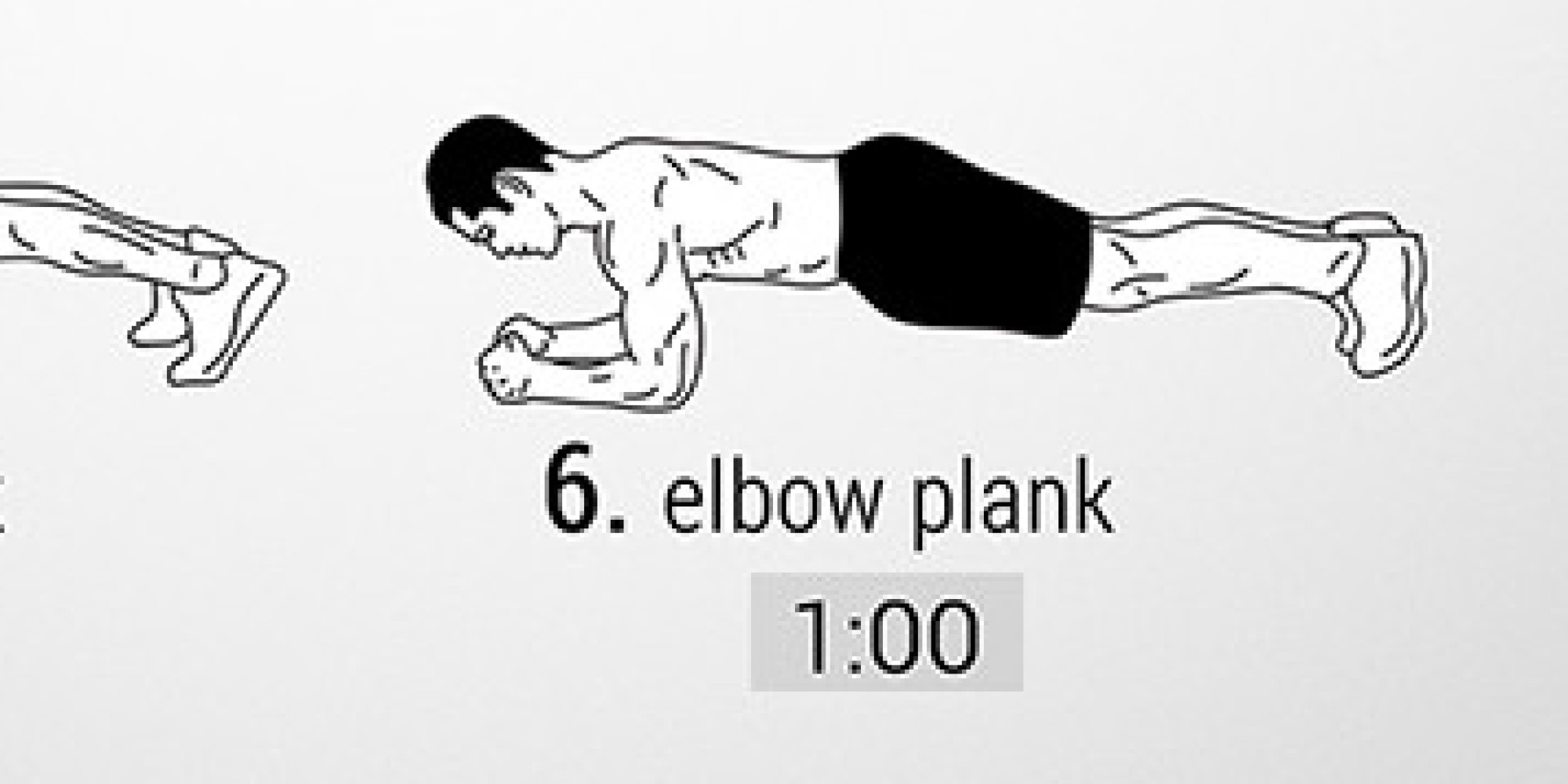 Visual Workout Five Minute Plank To Abs Of Steel