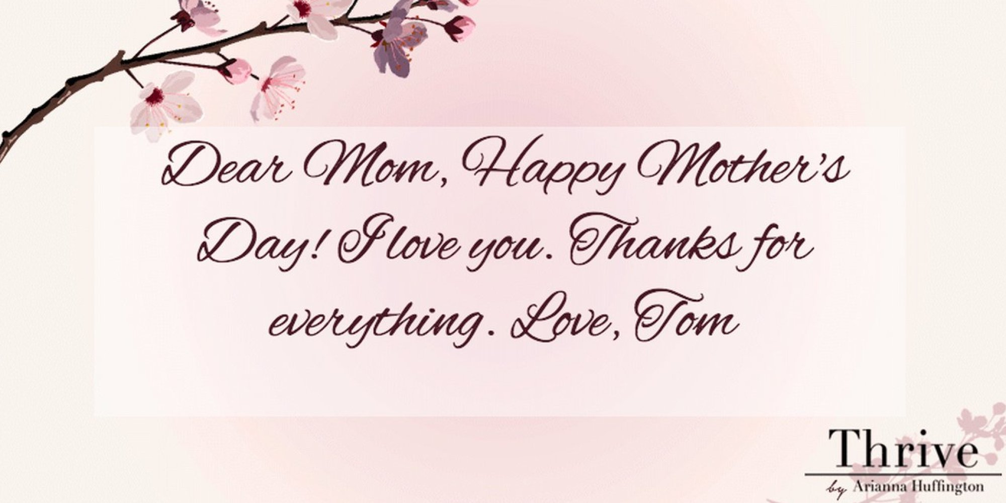 Send A Mothers Day E Card And Thank Your Mom For Teaching
