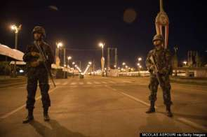 Image result for military curfew