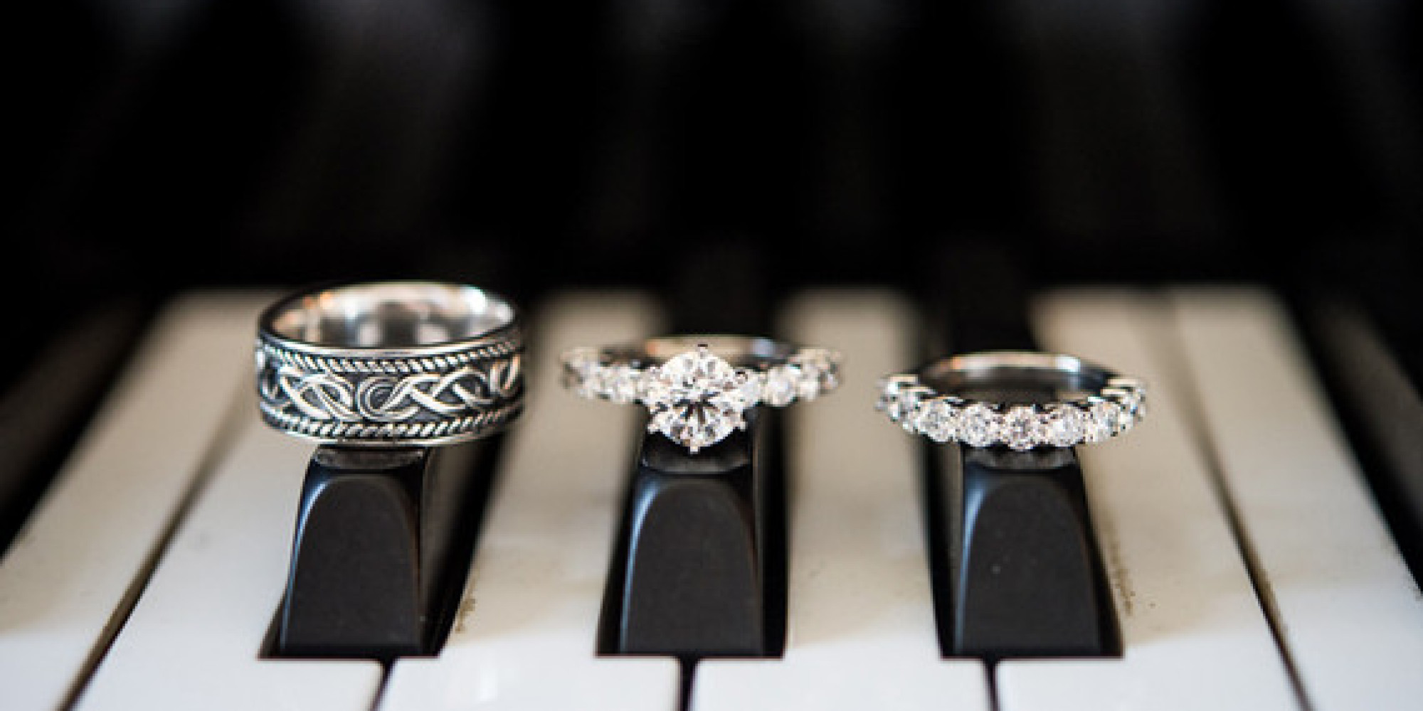 11 Creative Ways To Photograph Your Wedding Rings HuffPost
