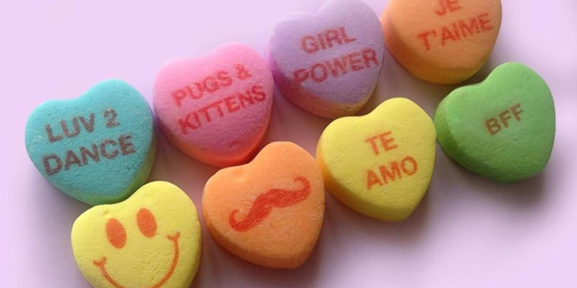 New Candy Hearts Are A Sign Of Our Crumbling Civilization
