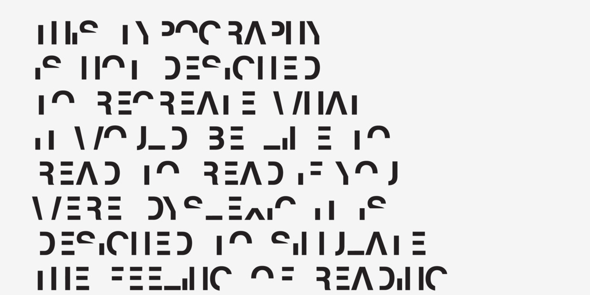 Designer Creates A Font That Emulates The Frustrations Of