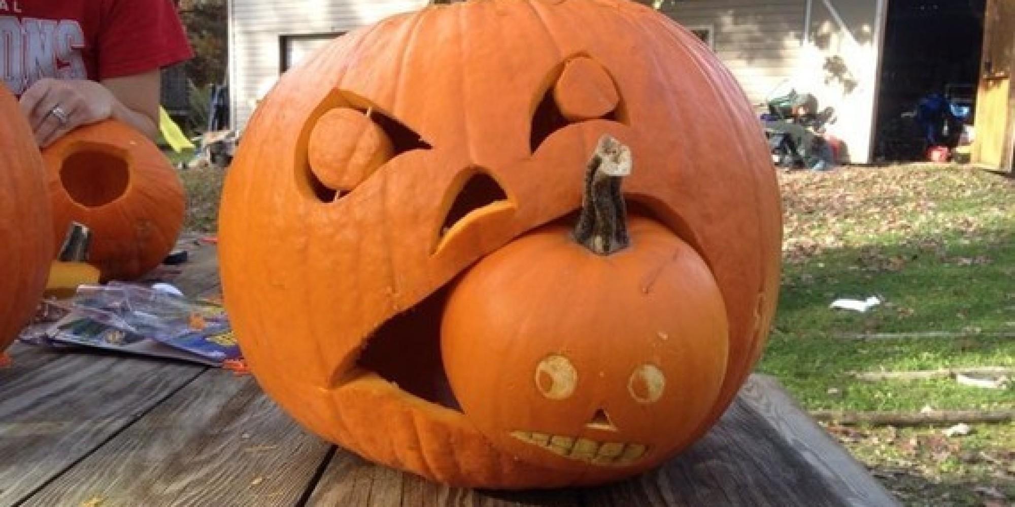 Fall Time Pumpkin Carving Ideas