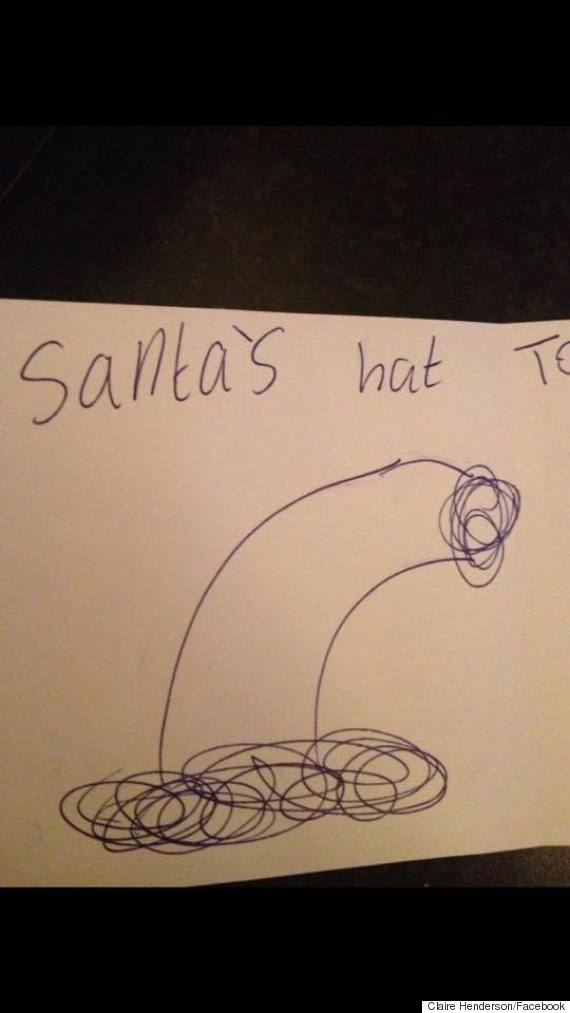 Mums Post About Sons Inappropriate Christmas Card