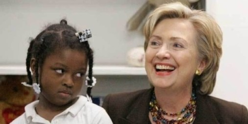 Image result for hillary clinton black community