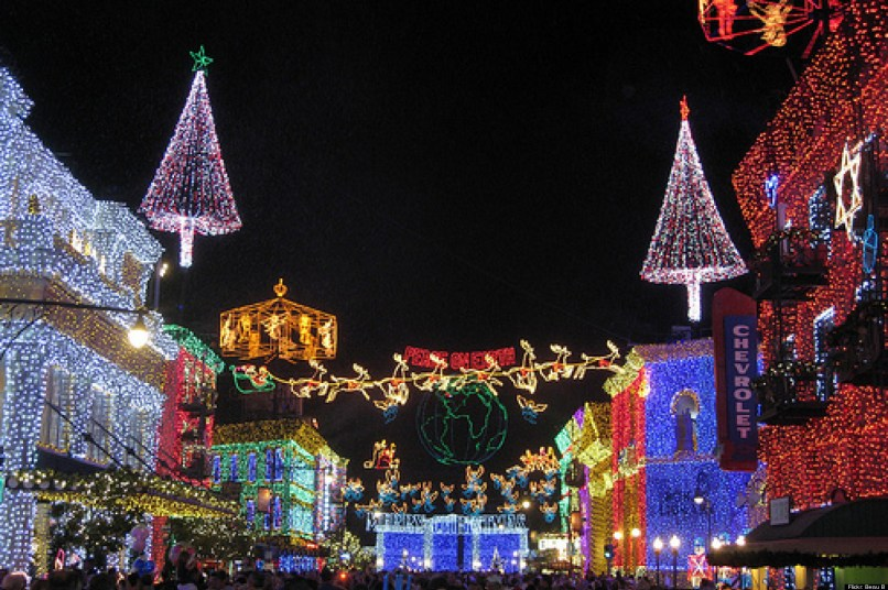 best la neighborhoods for holiday decorations photos huffpost