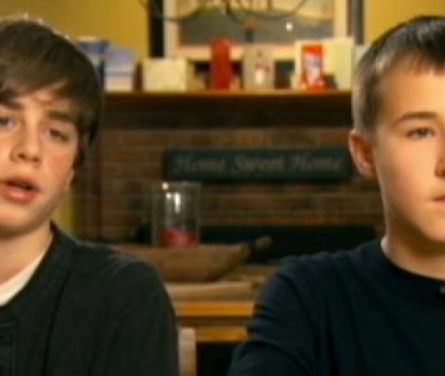 Year Old Massachusetts Boys Jake Waterman And Drew Covney Rescued From Swamp Video Huffpost
