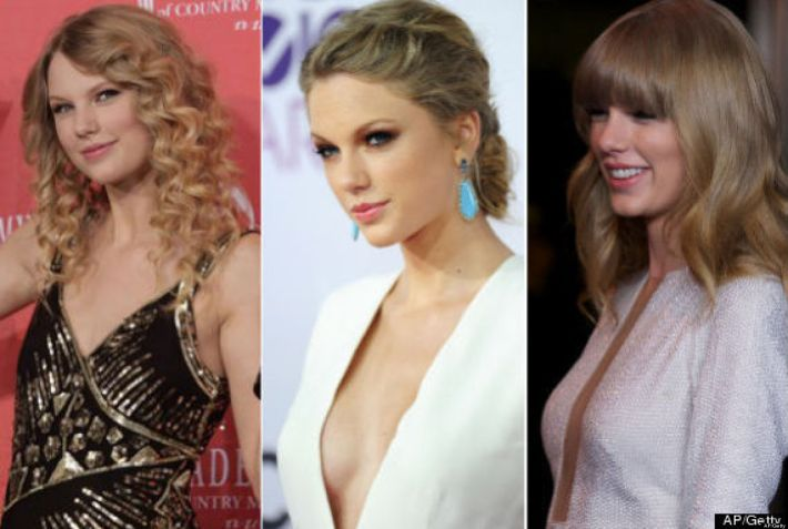 celebrity plastic surgery: taylor swift is not the first star to