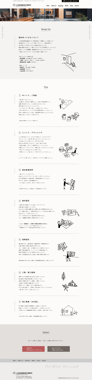Planning|家づくりのながれ 小田倉建築設計事務所