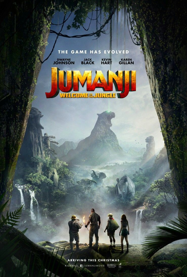 Jumanji, To The Jungle to the jungle
