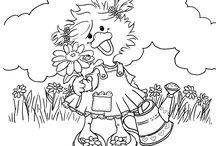 suzy s zoo coloring page suzy s zoo pinterest
