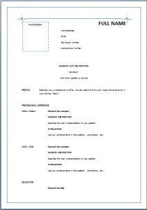 resume format pdf or doc acda