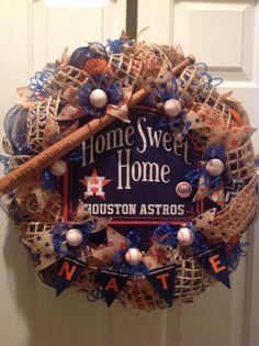1000 Images About Baseball Wreaths On Pinterest Texas Rangers Baseball Wreaths And Houston