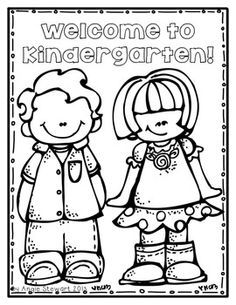 kindergarten coloring pages coloring pages and kindergarten on