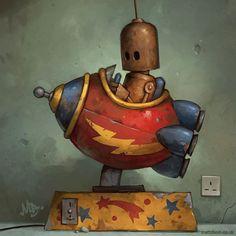 robot art - Cerca co