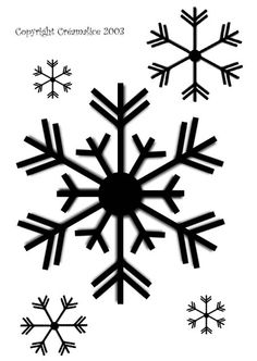 decorations snowflake pattern trace snowflakes snowflake patterns