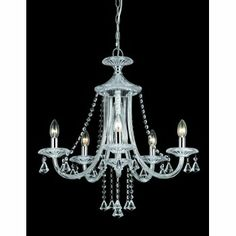 Crystal Chandelier With 6 Lights Modern Chandeliers Crystals And