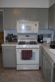 Bisque Appliances With White Cabinets Kitchen Inspiration Pinterest Property Listing