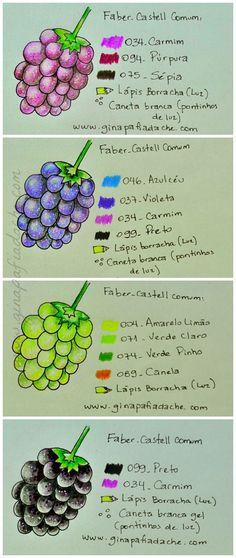 Color Combinations Prismacolor Pencil Skin