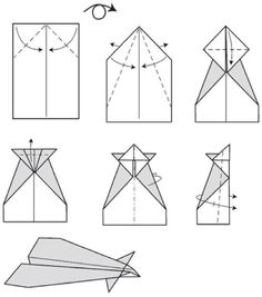 conrad paper airplane instructions more