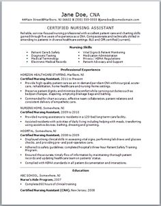think your cna resume could use some tlc check out this sample resume