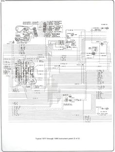 ELECTRIC: Wiring Diagram  Instrument Panel | '60s Chevy