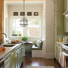 Galley Kitchen   The