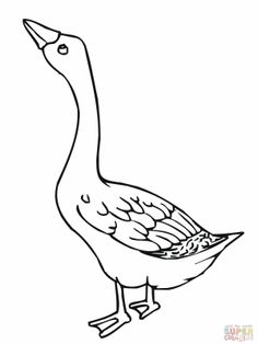 nene bird coloring page goose coloring pages and embroidery on