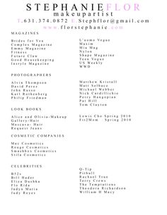 resume professional resume samples and artist resume on pinterest