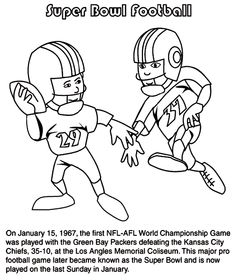 coloring pages coloring and super bowl party on pinterest