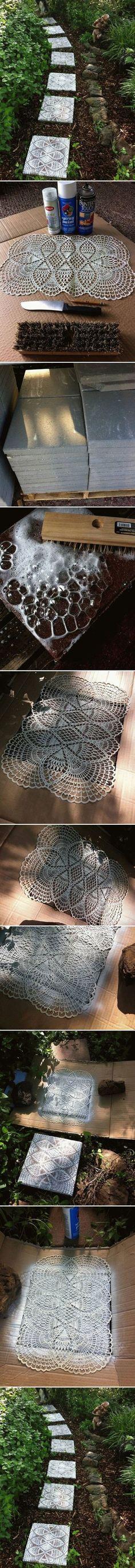 DIY Lace Like Steppi