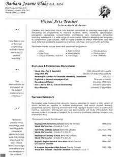 teacher resume template teacher resumes and best teacher on pinterest
