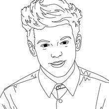 famous people one direction and coloring pages on pinterest
