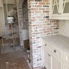 1000 Ideas About Kitchen Brick On Pinterest Tiles Uk